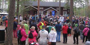 Tasavallan presidentti Sauli Niinistö ja rouva Jenni Haukio vierailivat Teijon kansallispuistossa